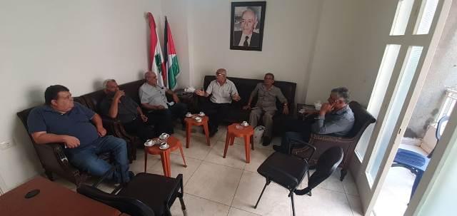 الشعبية تلتقي حزب طليعة لبنان العربي