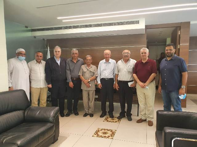 الشعبية تلتقي بالوزير السابق عبد الرحيم مراد