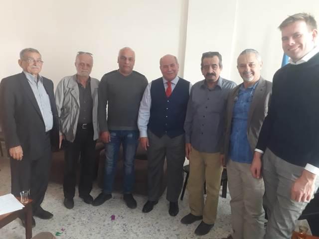 الجبهة الشعبية لتحرير فلسطين في بيروت تلتقي مدير الأونروا في بيروت