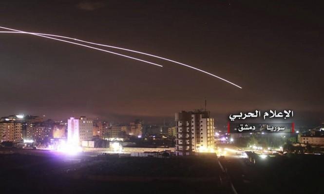 قصف صهيوني جنوبي دمشق