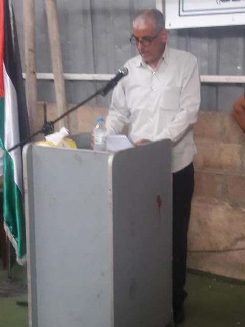 غنومي: إن فلسطين حق لنا وأية مساومات أو تسويات لا تعنينا والهدف هو دائما فلسطين من بحرها الى نهرها