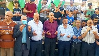 الجبهة الشعبية لتحرير فلسطين تشارك بوفد في الوقفات التضامنية في مخيمات الشمال