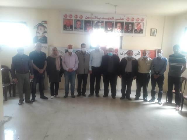 الجبهة الشعبية لتحرير فلسطين في الشمال تستقبل وفدا من ملتقى طرابلس لأجل فلسطين