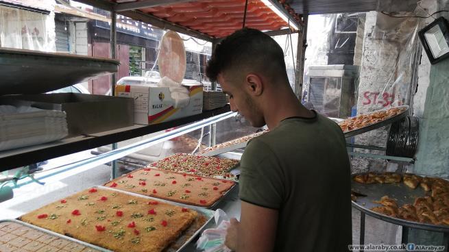 حلويات رمضان بلا زبائن