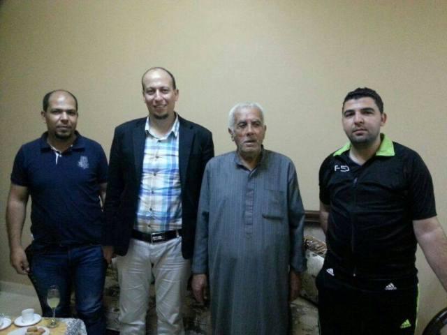 منظمة المعلمين الفلسطينيه في الشمال في زيارات اجتماعية
