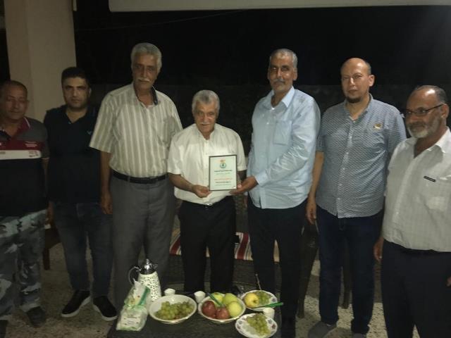 الجبهة الشعبية لتحرير فلسطين تكرم الحاج محمد جبر