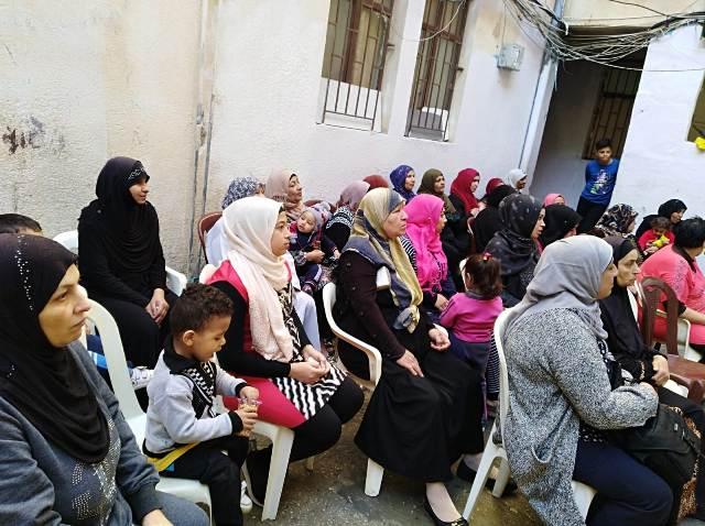 لجان المرأة الفلسطينية في صيدا تقيم ندوتيْن تربويتيْن
