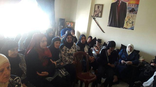 لجان المرأة بصيدا شاركت في تأبين أبي عماد الجنداوي