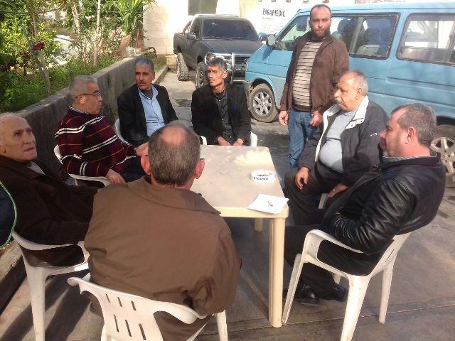لقاء بين الجبهة الشعبية والحزب القومي في حلبا