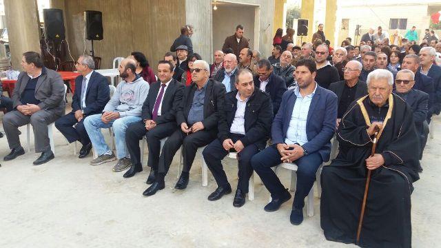 وفد من الشعبية في الشمال يشارك بافتتاح مكتب الحزب الشيوعي في حلبا