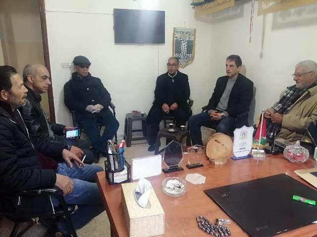 الشعبية في عين الحلوة تزور مكتب اللجان الشعبية الفلسطينية في المخيم