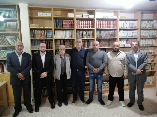 الجبهة الشعبية لحرير فلسطين في بيروت تلتقي حركة المقاومة الإسلامية حماس