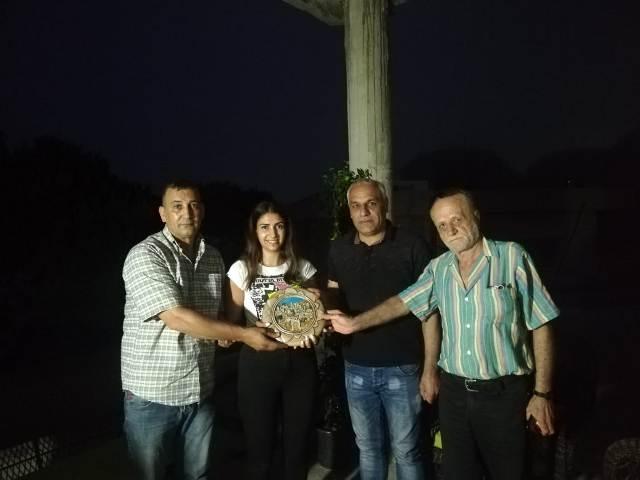 الجبهة الشعبية لتحرير فلسطين في بيروت تزور ليليان حمزة