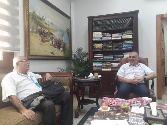 الجبهة الشعبية لتحرير فلسطين تلتقي رئيس بلدية الغبيري