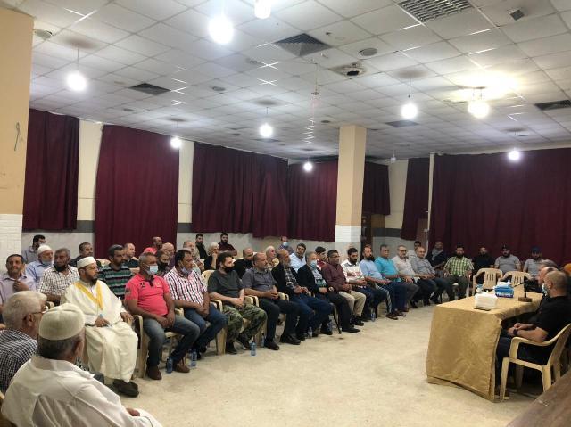 لقاءات سياسية في مخيم عين الحلوة ومخيم المية ومية ووادي الزينة حول تطورات معركة سيف القدس
