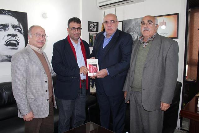 الشعبية في بيروت تلتقي أمين الهيئة القيادية في حركة الناصريين المستقلين