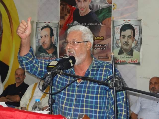 أبو علي حمدان: إن شعبنا متعلق بأرض آبائه وأجداده وعيونه شاخصة إليها، ولن يقبل بديلا عن فلسطين إلا فلسطين