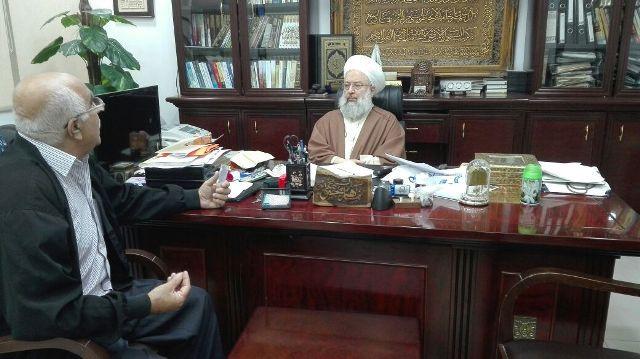 الجبهة الشعبية لتحرير فلسطين في لبنان تلتقي الشيخ ماهر حمود