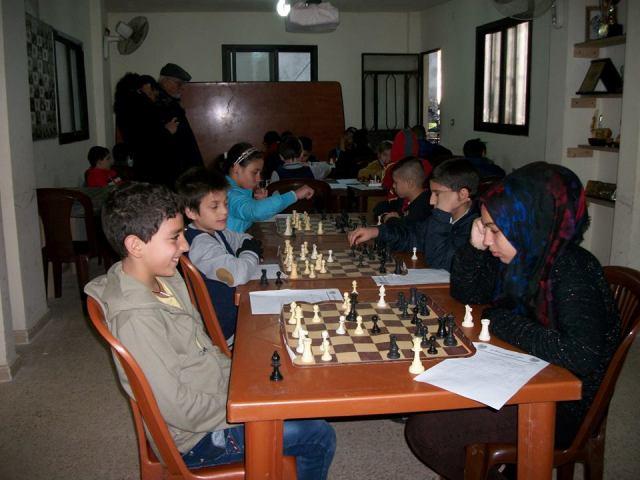 الملتقى الفلسطيني للشطرنج يحيي الذكرى ال 27 لإستشهاد جهاد كعوش