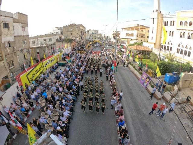 مهرجان حاشد في حارة صيدا بمناسبة يوم القدس العالمي