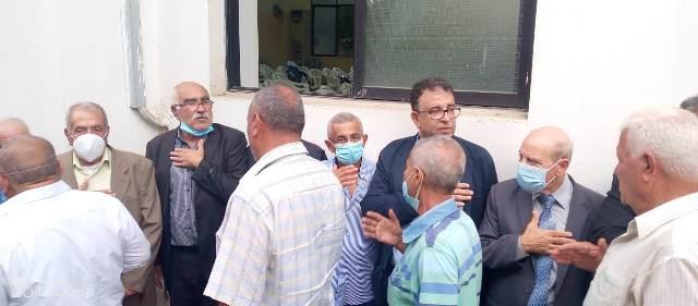 الجبهة الشعبية لتحرير فلسطين ومنظمة التحرير الفلسطينية ، وآل العلي و آل حمادة وآل روتزلر يؤبنون المرحوم حسن داود