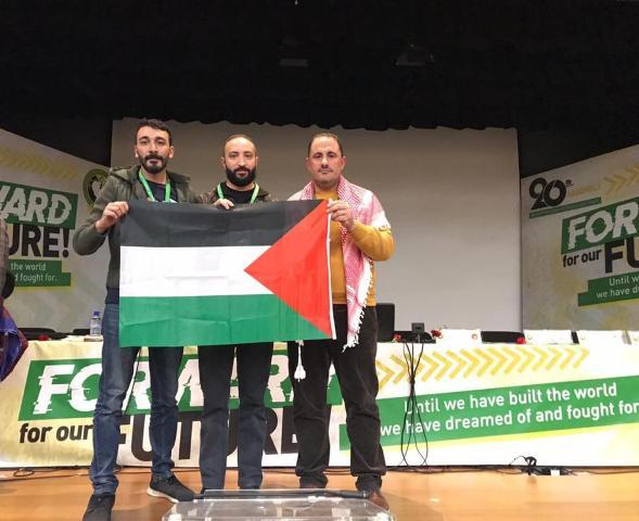 منظمة الشبيبة الفلسطينية تفوز بعضوية الهيئة الأولى في الوفدي، ويفوز هيثم عبده بمنصب النائب غير المقيم لمنطقة الشرق الأوسط