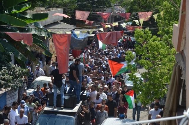 الشعبية في صيدا تشارك في جمعة الغضب السادسة في مخيم عين الحلوة رفضاً لقرار وزير العمل بحق اللاجئين الفلسطينيين