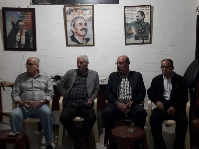 الشعبية تقيم مجلس تبريك بشهداء غزة في مخيم عين الحلوة