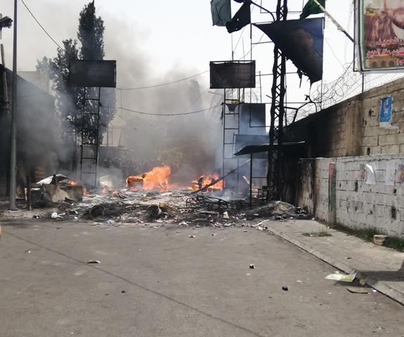 المخيمات الفلسطينية تواصل الاحتجاج ضد خطة وزارة العمل