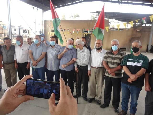 وقفة تضامنية دعمًا للشعب الفلسطيني المنتفض في القدس في مخيم عين الحلوة