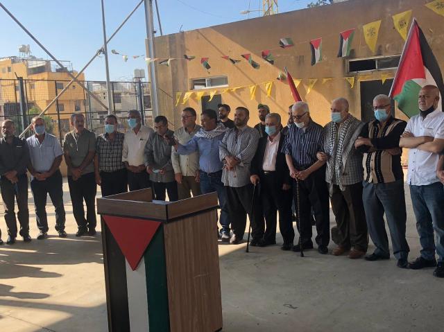 هيئة العمل المشترك تقيم اعتصامًا تضامنيًا مع القدس في مخيم عين الحلوة