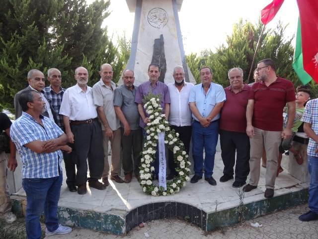 الشعبية في منطقة صيدا تحيي الذكرى العشرين لاستشهاد أبو علي مصطفى