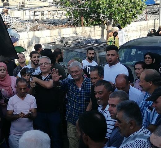 اعتصام جماهيري في مخيم عين الحلوة احتجاجًا على إجراءات وزارة العمل اللبنانية بحق العمال الفلسطينيين