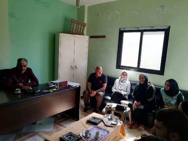 اللجان الشعبية في الشمال تلتقي أهالي حي المسلخ في مخيم البداوي ووفدًا من منظمة undp وبلدية وادي النحلة