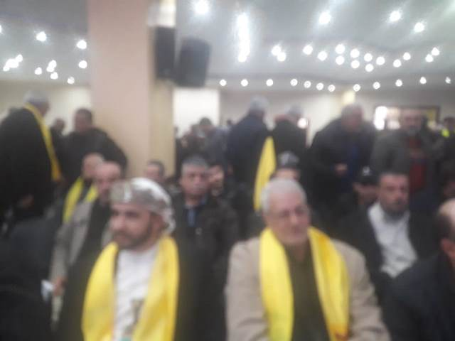 الشعبية في صيدا تشارك بالمهرجان المركزي الذي أقامه حزب الله