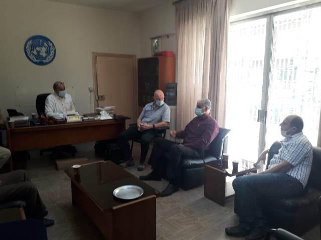 اجتماع بين الفصائل واللجان الشعبية و الأنروا في الشمال اليوم