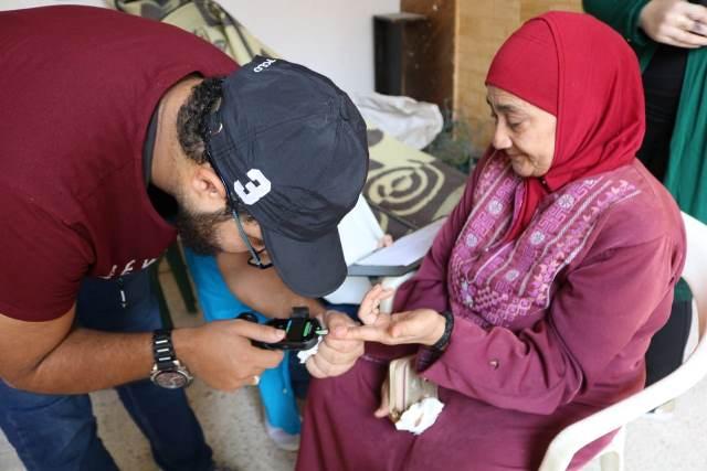 لجان المرأة الشعبية تقيم ندوة صحية في مخيم عين الحلوة