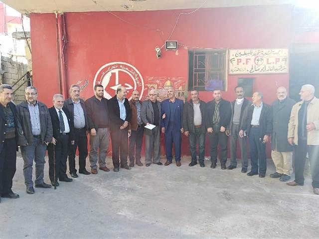 ثوابتة يلتقي ممثلي فصائل العمل الوطني والإسلامي في مخيم عين الحلوة