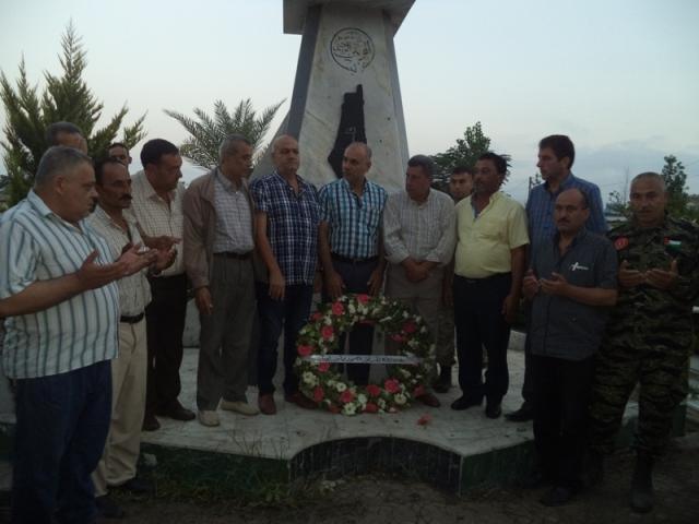 الشعبية في صيدا تزور مقبرة درب السيم