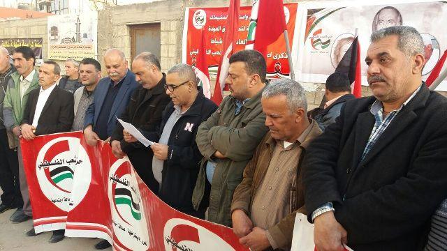 حزب الشعب الفلسطيني يضع أكاليل زهر على أضرحة شهداء نهر البارد في ذكرى إعادة تأسيسه الـ35