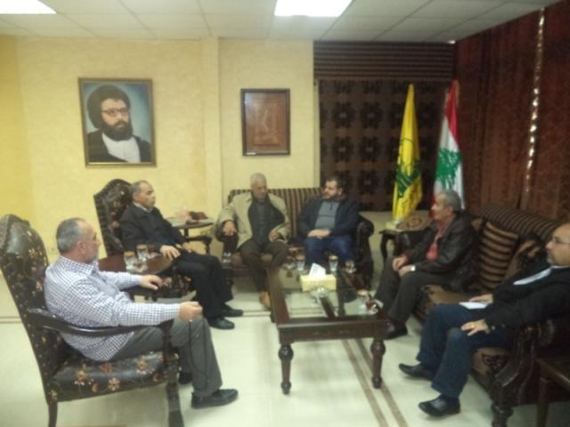 الشعبية في صيدا تزور حزب الله