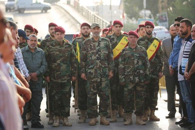 حزب الله يحتفي بعيد المقاومة والتحرير في بلدة الغازية