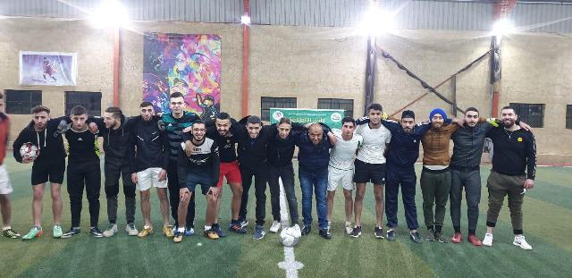 منظمة الشبيبة الفلسطينية في بعلبك تشارك في دوري كرة قدم