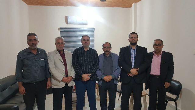 الشعبية في صيدا تزور حركة المقاومة الإسلامية( حماس)
