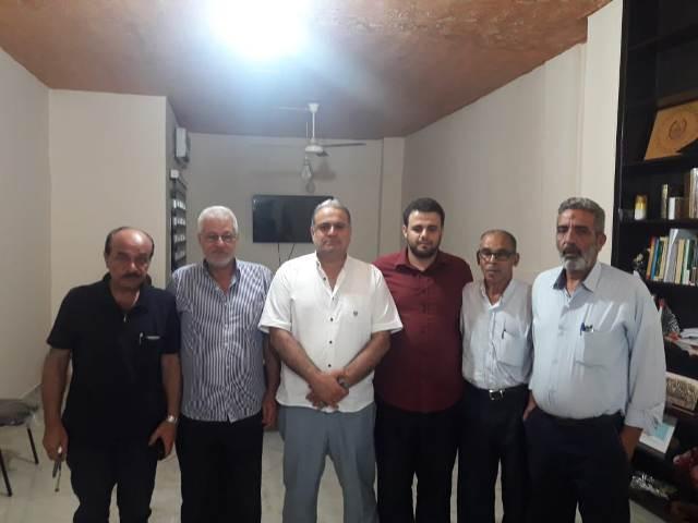 الشعبية تزور حركة المقاومة الإسلامية  ( حماس) في مخيم عين الحلوة