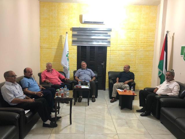 الجبهة الشعبية تلتقي حماس في عين الحلوة