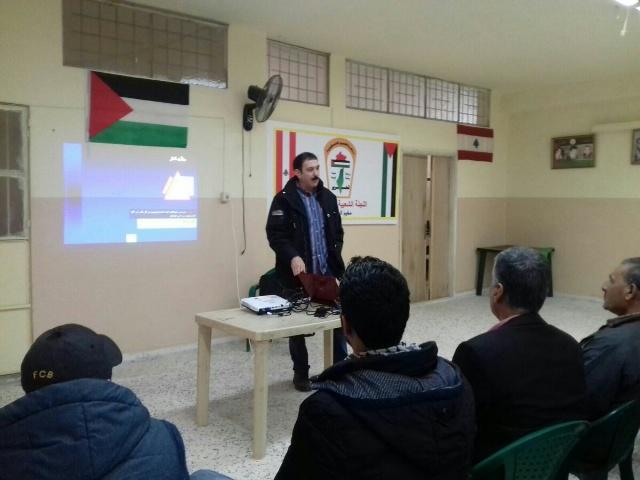 اللجان الشعبية في منطقة الشمال بالتعاون مع الصليب الأحمر الدولي والدفاع المدني اللبناني تنظم دورة تدريب على إطفاء الحرائق.