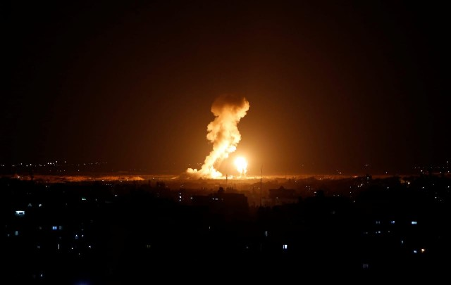 عدوان صهيوني يستهدف قطاع غزة