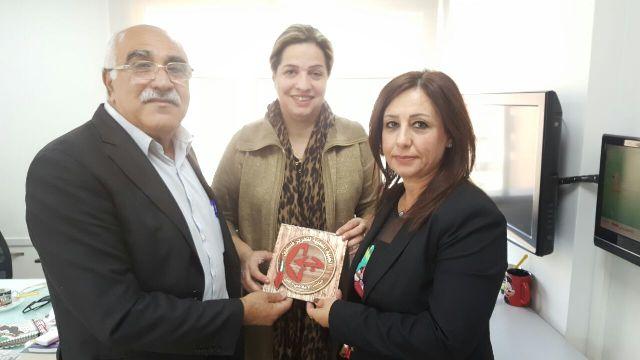 الشعبية في لبنان تقوم بجولة زيارات على وسائل الإعلام