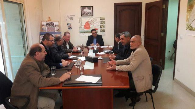 بيان صادر عن لجنة المتابعة العليا لإعادة إعمار مخيم نهر البارد